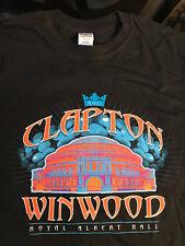 ERIC CLAPTON / STEVE WINWOOD 2011 ROYAL ALBERT HALL T-SHIRT