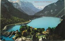 """Alte AK """"Salachsee bei Bad Reichenhall"""" (1929/ mit Werbestempel)"""