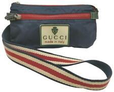 Gucci Crest Logo Crossbody Web Banana Belt Bag Waist Pouch 861275