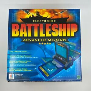 2000 Milton Bradley Electronic Battleship Advanced Mission Complete Game