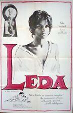 A DOUBLE TOUR LEDA one sheet movie poster 27x41 JEAN-PAUL BELMONDO CHABROL