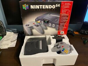 N64 Console With Original Box In Great Condition Nintendo 64