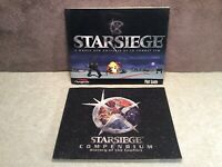 Starsiege PC Game Pilot Guide & Compendium Only 1999 Dynamix Tribes