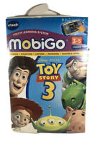 V-Tech MobiGo Game DISNEY PIXAR TOY STORY 3 3-5 Letters Shapes Counting Rhyming