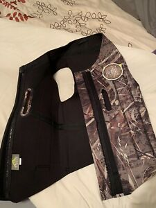 All Weather Neoprene Dog Vest, Camo, Realtree Max-5, Size XL