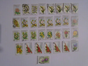 Trinidad and Tobago 1983 flowers to $5  collection 2