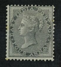 CKStamps: GB India Stamps Collection Scott#16 Mint H OG