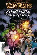 WAR OF THE REALMS STRIKEFORCE THE DARK ELF REALM #1 Marvel Comics COVER A