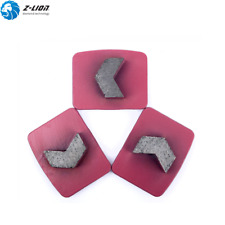 4PCS Grit LB20/30 Diamond Grinding Pad Disc Metal Bond Concrete Floor Grinding