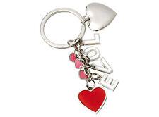 PORTACHIAVE LOVE con cuore personalizzato con INCISIONE