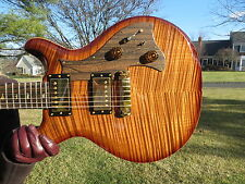 Prs Private Stock Rare Mira Copperhead Smoked Burst Ziracote Fretboard 2009