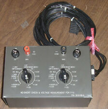 No-Short Check & Voltage Measurement for F-10 3516189-A