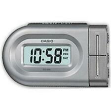 Casio DQ543 Digital Battery Beep Bedside Alarm Clock Snooze LED Backlight Silver