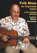 Stefan Grossman Folk Blues for Fingerstyle Guitar Learn to Play Music DVD