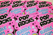 POP ROCKS BUBBLE GUM, PACK OF 6 POP ROCKS