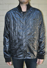 DC Shoes Black Quilted Polyester Zip Jacket XL