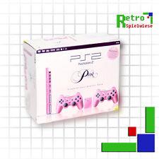 PS2 slim Pink mit OVP [SCPH-77004P] [PAL]