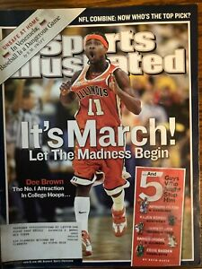 Sports Illustrated March 7, 2005 - Dee Brown