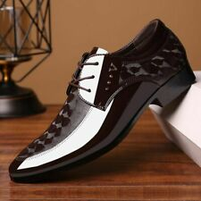 Men Shoes Casual Dress Shoe Oxford Lace Up Breathable Formal Office Footwear New