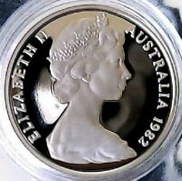 1982 20c TWENTY CENT PROOF COIN - EX RAM PROOF SET - GETTING HARDER TO FIND