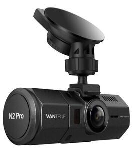 Vantrue N2 PRO Uber Front & Inside Dual Dash Cam 1080P BRAND NEW & SEALED