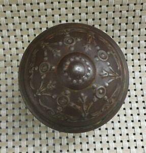 Ornate Antique Brass Door Knob