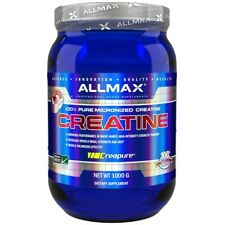 ALLMAX Nutrition 100% Pure Micronized Creatine Muscle Powder, Unflavoured 1000g
