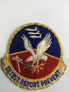 ORIGINAL AIR FORCE Patch  Detect Report Prevents