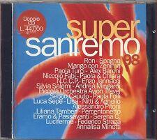 Supersanremo '98 - RON SPAGNA MANGO ZENIMA PAOLA & CHIARA TURCI SALEMI - 2 CD
