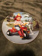 Thursday's Child Danbury Mint Collectors Plate Artwork by Gignilliant,