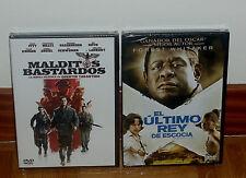 MALDITOS BASTARDOS-EL ULTIMO REY DE ESCOCIA 2 DVD NUEVO DRAMA (SIN ABRIR) R2
