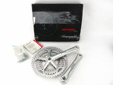 Campagnolo Record Crankset 10 Speed Triple 175 50/40/30 Ultra Drive Bicycle NOS