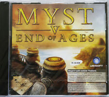 ** MYST V ( 5 ) : End of Ages ** PC CD GAME ** Brand new Sealed **