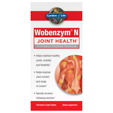 Garden of Life - Wobenzym N - 400 Tablets