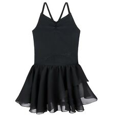 Girls Gymnastic Ballet Leotard Tutu Dress Ballerina Dance Outfit Costume Sz 2-12
