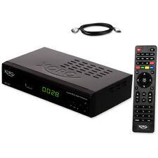 DVB-T2 terrestiesche HD TV Receiver HEVC H.265 Xoro HRT 7619 USB LAN + HDMI