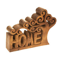 NEW WOODEN TREE HOME LETTER SIGN ORNAMENT DECOR VINTAGE HOME GIFT Decorative