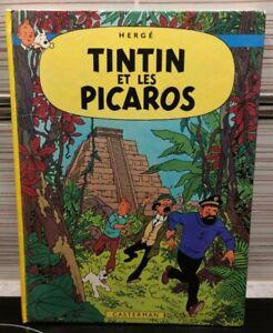 TINTIN ET LES PICAROS (1976) bon état