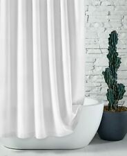 """Hotel Collection 100% Cotton Waffle 72"""" x 72"""" Shower Curtain - White"""