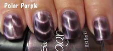 NEW! Sally Hansen Magnetic nail polish POLAR PURPLE #902 Shimmery metallic