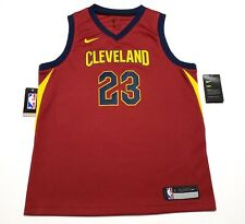Nike Cleveland Cavaliers Youth Size Large LeBron James Swingman Jersey