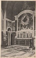 """""""Hundred Year old photo postcard from collection"""" Westminster,The Altar,Holy Sou"""