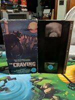 THE CRAVING VHS VESTRON VIDEO HORROR
