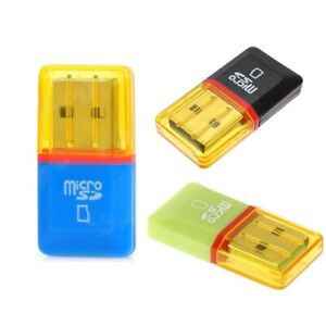 3x MICRO SD SDHC SDXC KARTENLESER SPEICHERKARTE ADAPTER USB STICK LESEGERÄT Z32