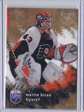 MARTIN BIRON PHILADELPHIA FLYERS GOALIE 2007-08 BAP PLAYER'S CLUB 55/99 #142