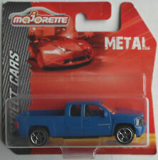 Majorette - Chevy Silverado Pickup / Chevrolet blau Neu/OVP Radvariante 3