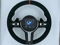 BMW F10 F11 F12 F01 F07 M PERFORMANCE ALCANTARA HEATED VIBRO STEERING WHEEL