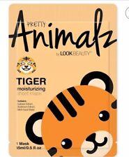 Tiger Sheet Masks Animal Face PRETTY ANIMALZ By Masque Bar