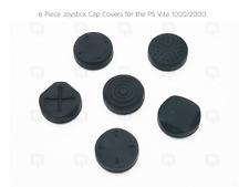 BLACK PS Vita PSV 1000/2000 Thumb Stick/CAP JOYSTICK Cover Controller Silicone