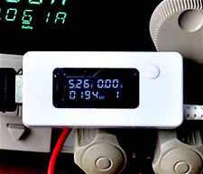 Probador de capacidad de dispositivo USB Carga Monitor Medidor Voltaje de Corriente voltios amperios Tac